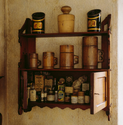 View of the small wall cabinet in Walter's Room of Mr Straw's House