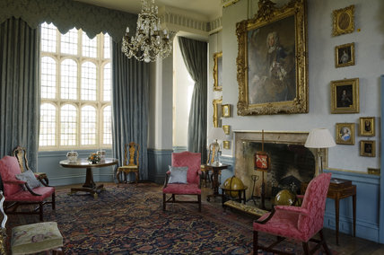 The Drawing Room at Coughton Court, Warwickshire