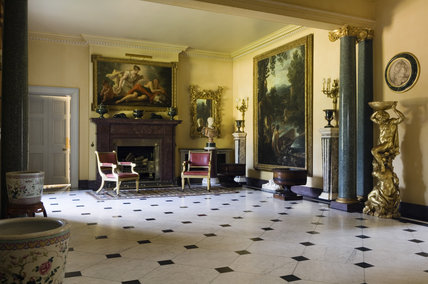 The Entrance Hall at Hinton Ampner, Hampshire