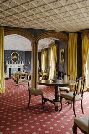 The Drawing Room at Hughenden Manor, Buckinghamshire, home of prime minister Benjamin Disraeli between 1848 and 1881