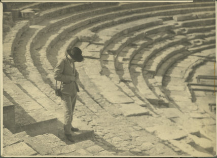 Figure in Amphitheatre, France