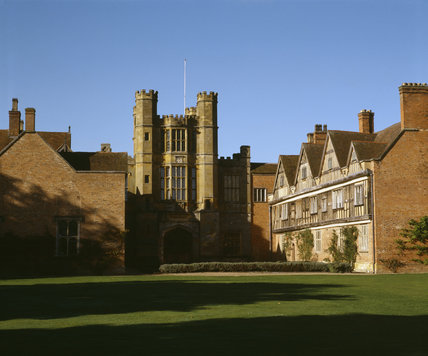 C16th Gatehouse at Coughton Court