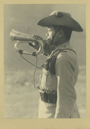 Ghurka Soldier with Trumpet