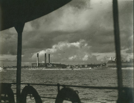 View of Birkenhead from a ferry