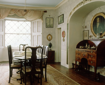 Looking into the Dining room from the doorway to the Octagon