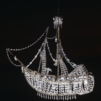 The Ship Chandelier from Lady Londonderry's Sitting Room