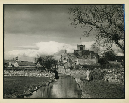 Eau River and Cartmel village