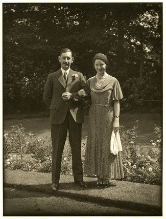 Wedding of Edward Chambré Hardman and Margaret Mills