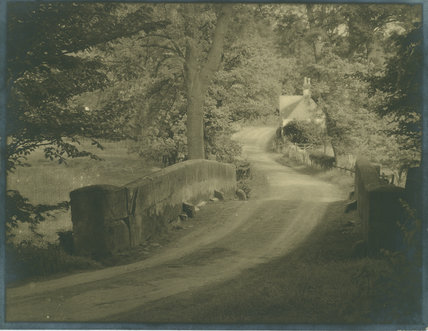 Country Lane and Bridge, Dibbinsdale