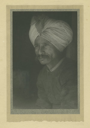 Portrait of an unidentified Indian Man
