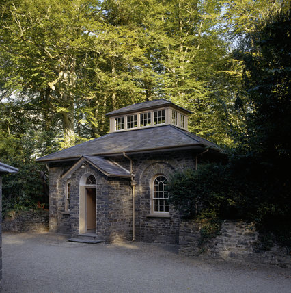 Exterior view of the Billiard Room at Llanerchaeron