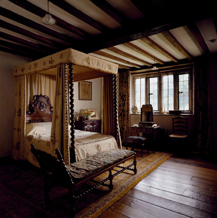 Kipling's Bedroom showing the late C19th