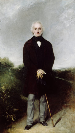 WILLIAM GIBBS by Sir William Boxall, RA, 1859