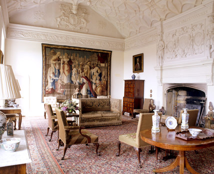 The Great Chamber at Trerice, Cornwall