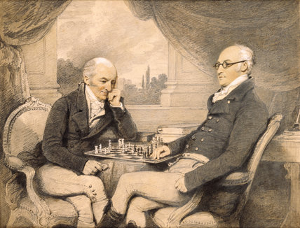 CHESS PLAYERS by Edridge