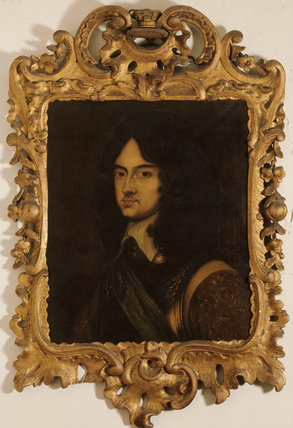 CHARLES II AS A YOUNG MAN at Moseley Old Hall