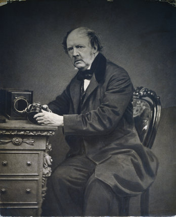 Photograph of William Henry Fox-Talbot taken by John Moffat of Edinburgh in 1866