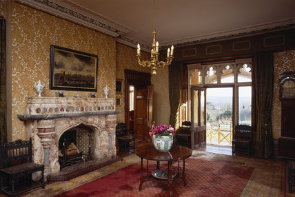 The Ante room at Tyntesfield created by John Norton