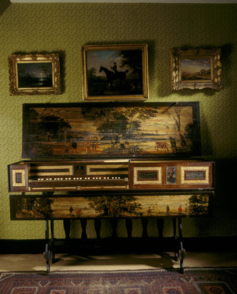 A Hatley 'virginal' in the north room of Fenton House