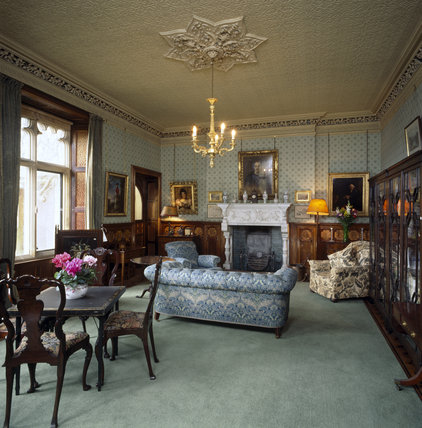 Lord Wraxall's Sitting Room at Tyntesfield