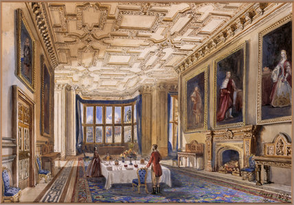 The Dining Room At Floors Castle Duke Of Roxburghe S