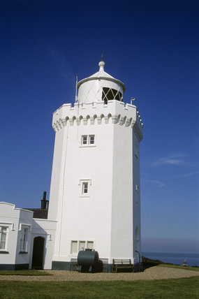 The South Foreland Lighthouse dates from the 1843, when the light was oil lamp