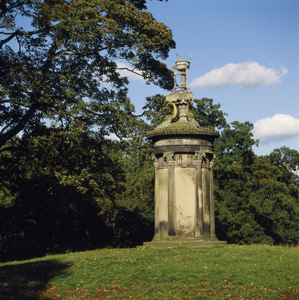 Shugborough Garden; The Lanthorn of Demosthenes, choragic monument of Lysicrates