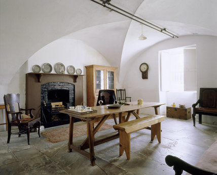 View of the Servants Hall at Florence Court