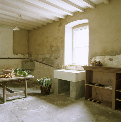Partial view of the Scullery at Florence Court
