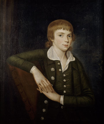 A painting of a boy in Fenton House