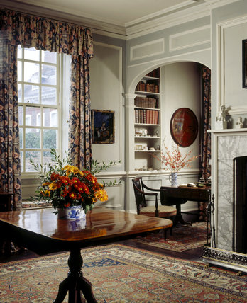 A view of the Oriental Room at Fenton House, which takes its name from the Chinese Porcelain displayed there