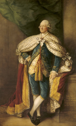 JOHN HOBART, 2ND EARL OF BUCKINGHAMSHIRE by Thomas Gainsborough, painted in 1784