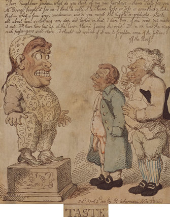 TASTE, by Rowlandson, 1801