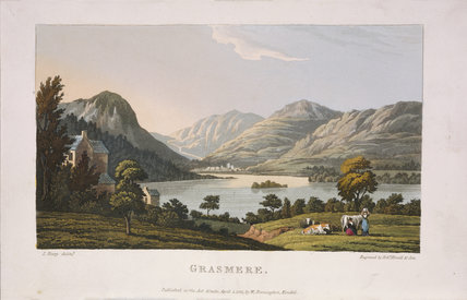 A print of Grasmere at Townend, Troutbeck,  Cumbria