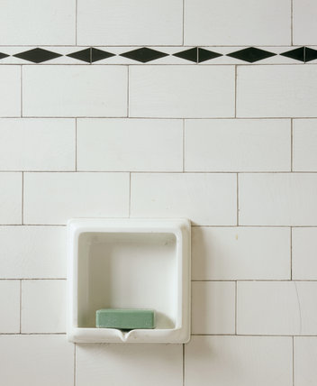 Detail of the Bathroom at Mendips