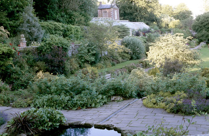 View of the walled garden at Wallington