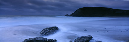 A seascape of Church Cove, Gunwalloe Towans
