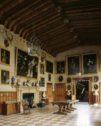 The Great Hall at Charlecote Park