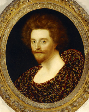 SIR THOMAS LUCY by William Larkin (fl c.1609-d.1619) from Charlecote Park.