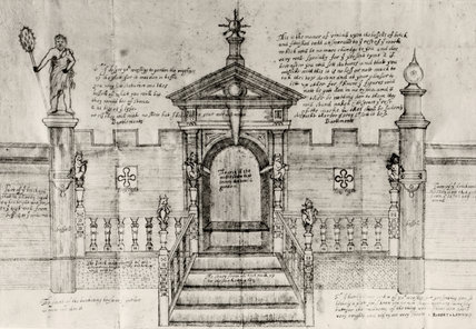 DESIGN FOR A BANQUETING HOUSE IN THE GARDEN AT BLICKLING HALL, NORFOLK c