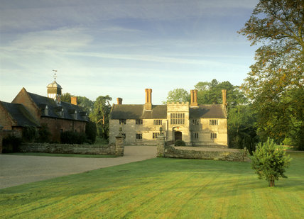 A view of the Forecourt of Baddesley Clinton