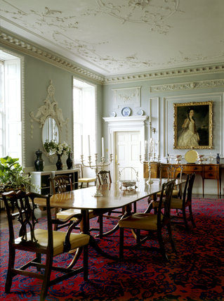 The interior of the Dining Room at Wallington
