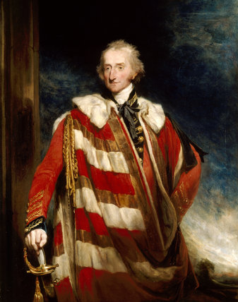 7th EARL OF BRIDGEWATER by William Owen (1769-1823) at Belton House