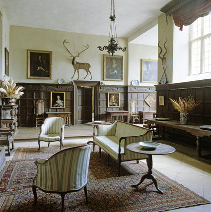The Hall at Chastleton House