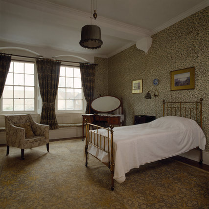 The Willow Bedroom with Morris's `Willow Bough' wallpaper