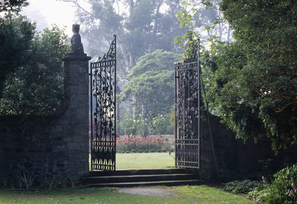 A view of the Gateway leading towards the Italian Garden