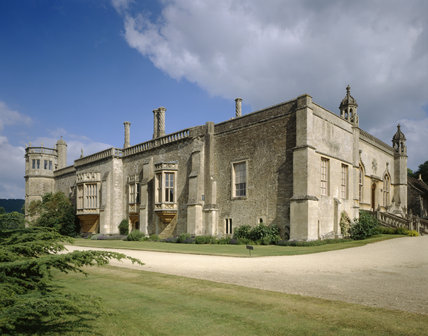 Lacock Abbey, Wiltshire, from the south west