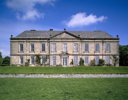 The South or Garden front of Wallington in Northumberland