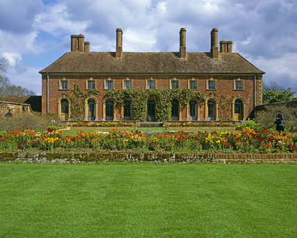 The West Front of Strode House at Barrington Court