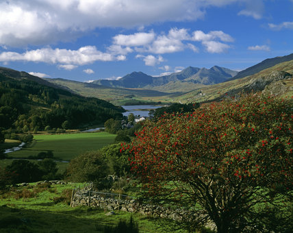 A view of Snowdon from Capel Curig